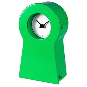 😘🤑 Vintage-style Green Table Top Alarm Clock